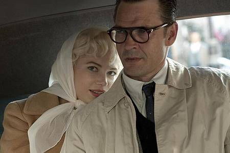Michelle Williams als Marilyn Monroe und Kenneth Branagh als Laurence Olivier. Foto: Laurence Cendrowicz/The Weinstein Company/Servus TV/dpa