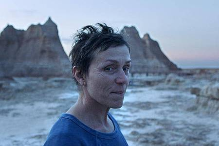 Frances McDormand in «Nomadland». Foto: Uncredited/Searchlight Pictures via AP/dpa
